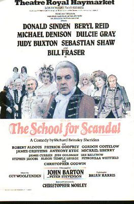 school of scandal as comedy of manners Here's an in-depth the school for scandal analysis in easy words which contains everything from the primary theme to the justification of comedy of manners.